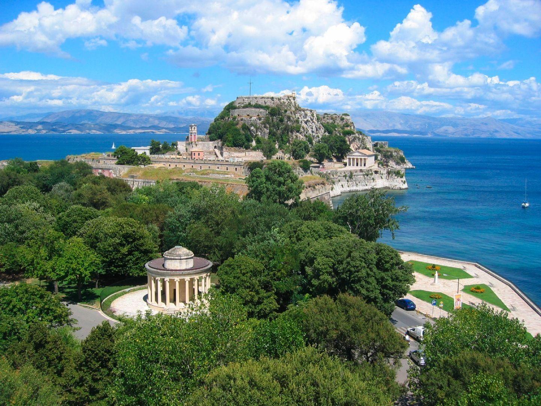 Atostogos Korfu saloje